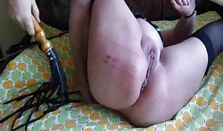 젊은 남자와 함께 묶었 포르노와 밀라 요보비치 bi-Bi-si